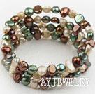 彩色珍珠手环