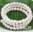 白珍珠手环