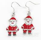 圣诞老人耳环