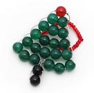 红玛瑙 绿玛瑙 黑玛瑙 圣诞树戒指