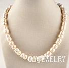 花生形珍珠项链