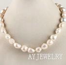异形珍珠项链