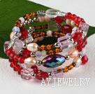 水晶珍珠手环