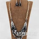 珍珠水晶巴西玛瑙套链