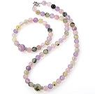 紫晶 粉晶 葡萄石手链 项链 套链