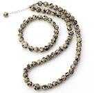 斑点石手链 项链 套链 长度可调节