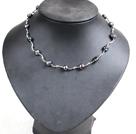 巴洛克珍珠水晶项链 四层款