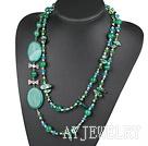 珍珠玛瑙项链毛衣链