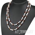 巴洛克珍珠项链毛衣链