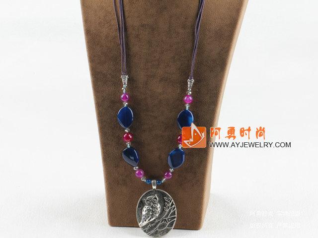 水晶玛瑙项链
