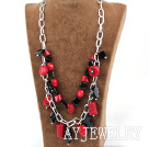珊瑚玛瑙项链