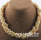 香槟色珍珠项链