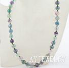 10mm紫萤石项链