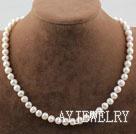 白珍珠项链