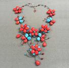 红蓝松石项链