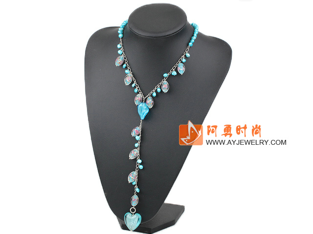 珍珠琉璃项链