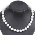 12mm白色海贝珠项链