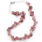 水晶草莓晶三七孔项链