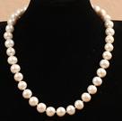 11-12mm白珍珠项链