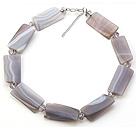 灰玛瑙 水晶项链 简约单层款
