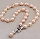 大颗粒巴洛克珍珠项链 单层唯美款