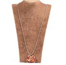 玛瑙生命树金属珠链长款项链