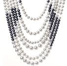 玻璃珠项链 多层款