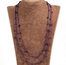 石榴石绳结项链(可做手链)