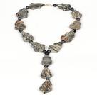 毕加索石项链