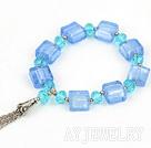 水晶琉璃手链