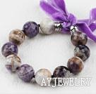 花紫晶手链
