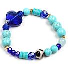 松石水晶玛瑙手链