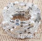 白水晶手环