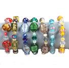7条水晶珍珠琉璃手链(颜色随机)