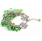 绿色水晶手链