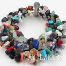 多排彩宝石手链