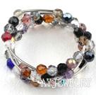 彩色水晶手环