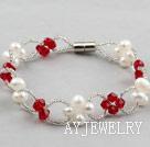 珍珠水晶手链