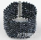 时尚水晶编织手链