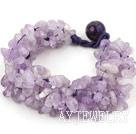 紫玉编织手链