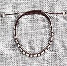 6条合金绳结手链(6条一组)