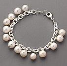 时尚白珍珠手链