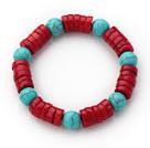 珊瑚松石手链