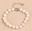 A级9-10mm白珍珠手链