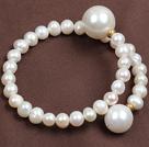 时尚珍珠海贝珠手环