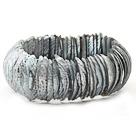 马蹄螺灰色贝壳手链 手环 手排款