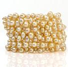 天然珍珠手环 多层多全款