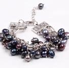 黑珍珠多层手链