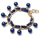玻璃珍珠手链 100条起卖
