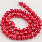 7mm圆形红珊瑚